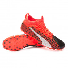 Chaussure de foot One 5.3 MG Puma black-Nrgy red-Puma aged silver