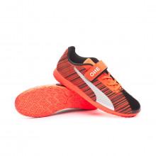 Futsal Boot Kids One 5.4 IT V  Puma black-Nrgy red-Puma aged silver