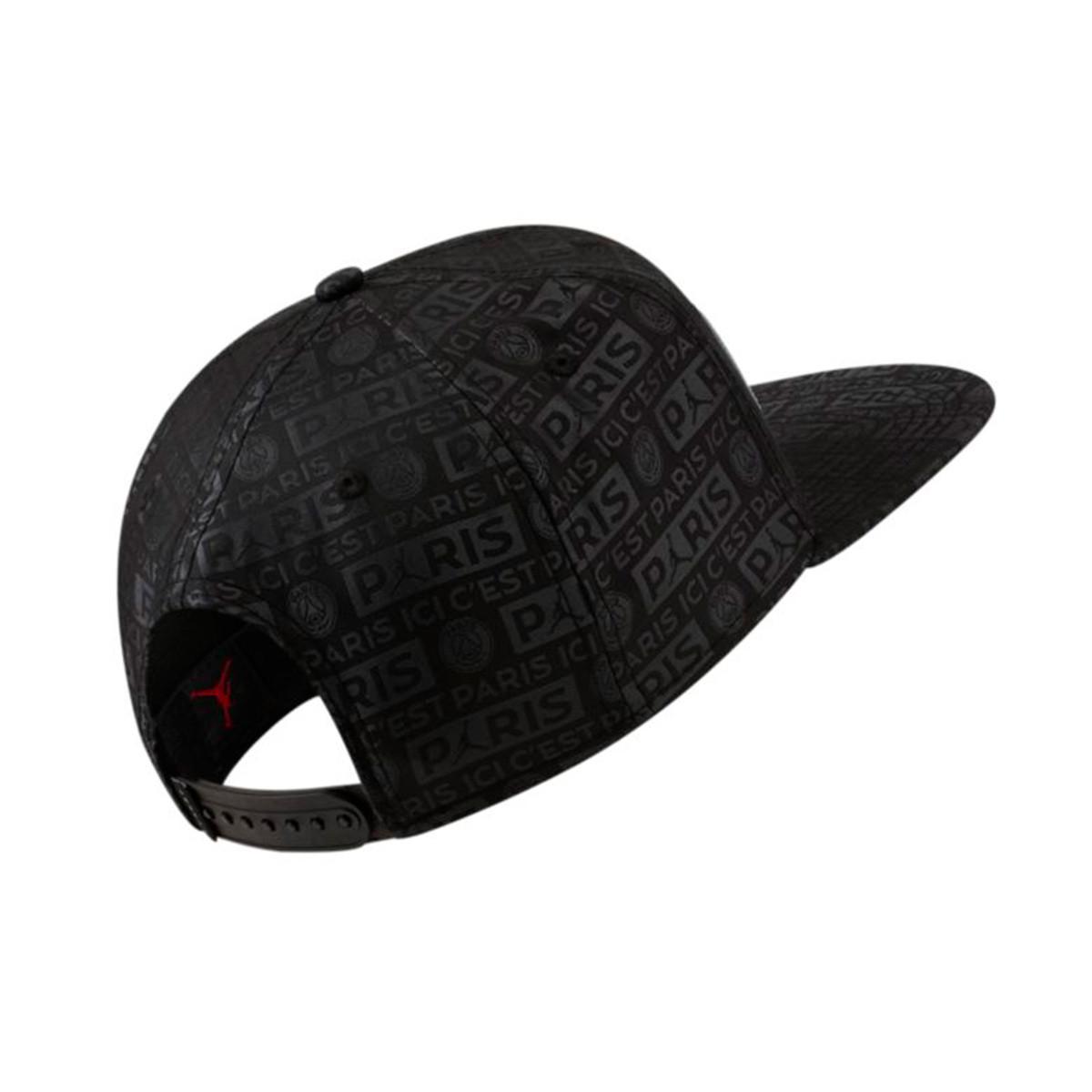 9e935ce0 Gorra Paris Saint-Germain Jordan Pro Snap Black