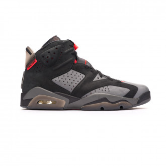 Zapatilla Nike Paris Saint-Germain Jordan VI Retro Iron grey-Black-Infrared