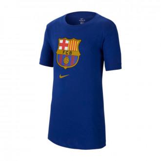 Camiseta Nike FC Barcelona Evergreen C2 2019-2020 Niño Deep royal blue