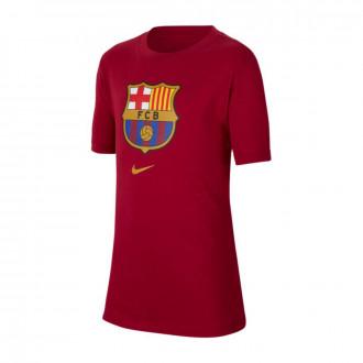 Camiseta Nike FC Barcelona Evergreen C2 2019-2020 Niño Noble red