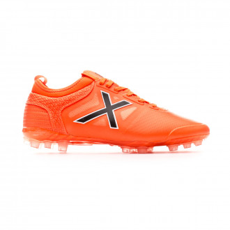 Zapatos de fútbol Munich Tiga Mundial Orange
