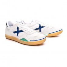 Chaussure de futsal Gresca 80ª Anniversaire Blanc-Bleu