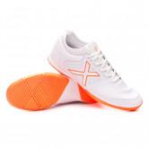 Futsal Boot Tiga Indoor White-Orange