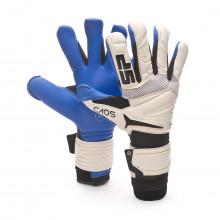 Glove CAOS Elite Aqualove+ White-Blue-Black