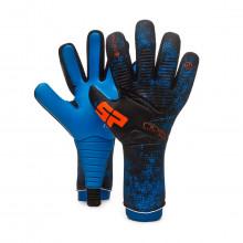 Guante No Goal Zero Aqualove Negro-Azul-Naranja