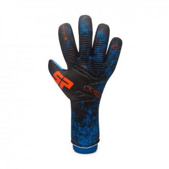 Guante SP Fútbol No Goal Zero Aqualove Negro-Azul-Naranja