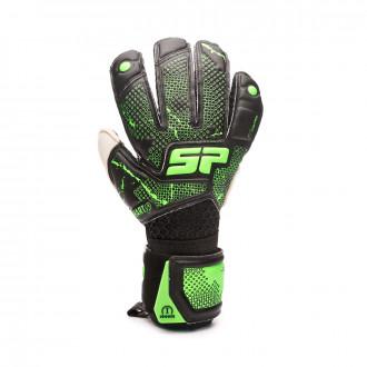 Glove  SP Fútbol Earhart 2 Iconic Black-Verde fluor