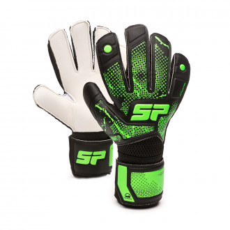 Glove Earhart 2 Training Black-Verde fluor