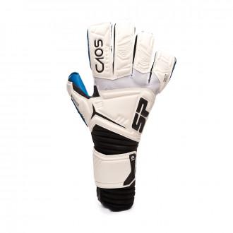 Glove  SP Fútbol CAOS Pro Aqualove Niño White-Blue