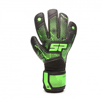 Glove SP Fútbol Earhart 2 Training Niño Black-Verde fluor