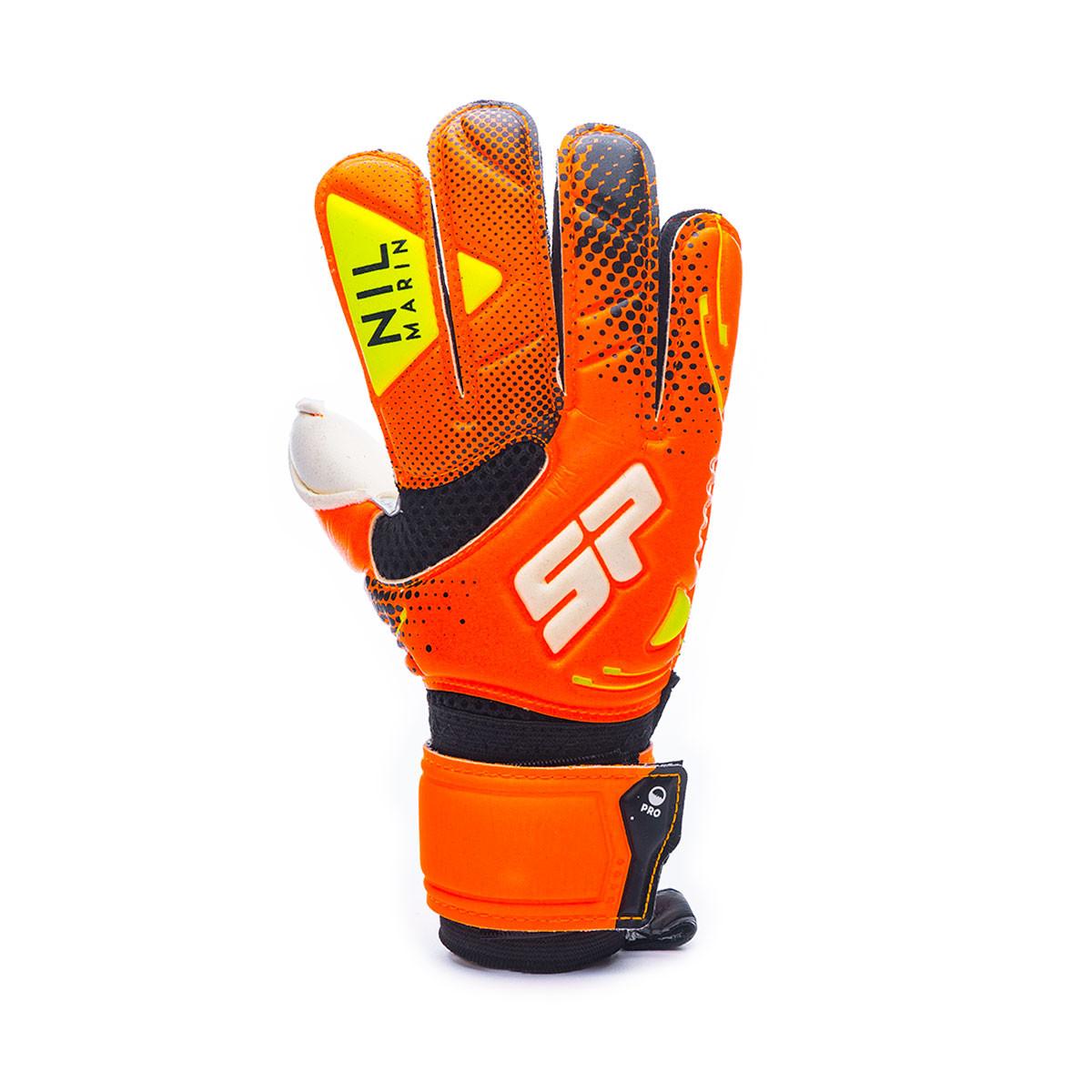 envío complementario retro venta al por mayor Glove SP Fútbol Nil Marín Pro Niño Orange-Black-Volt - Football ...