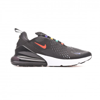Baskets Nike Air Max 270 Shoe Black-Flash crimson-University gold