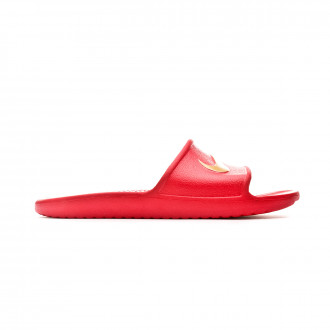 Zapatilla Nike Kawa Shower Slide University red-Metallic gold