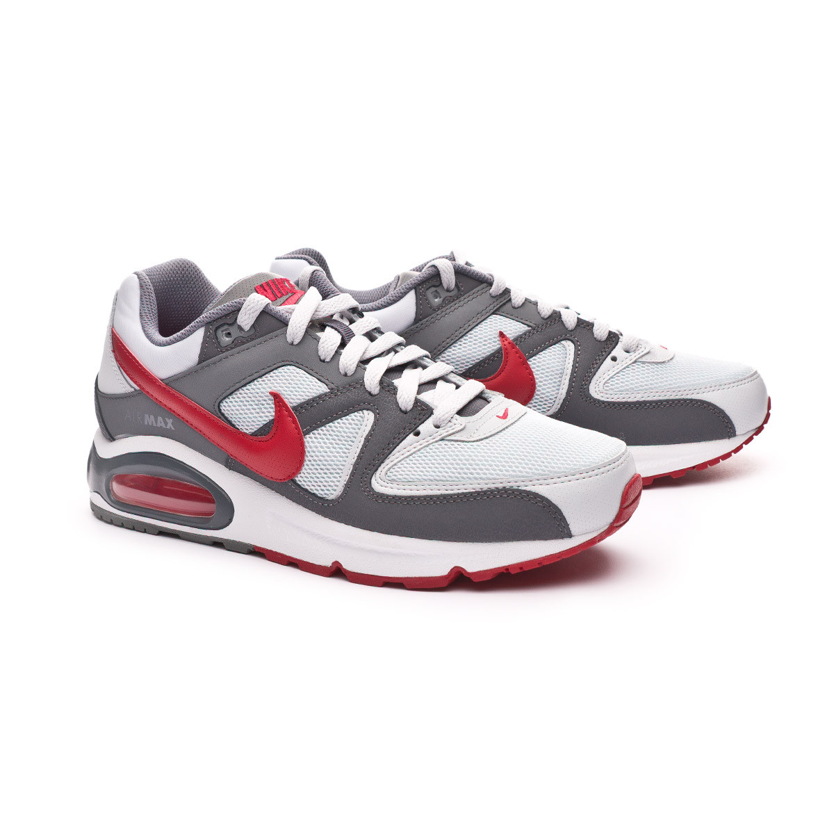 plus récent 0350d 13981 Zapatilla Air Max Command Shoe Pure platinum-Gym red-Dark grey