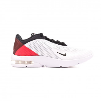 Zapatilla Nike Air Max Advantage 3 White-Black-University red