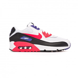 Baskets Nike Air Max '90 Essential Shoe White-Red orbit-Psychic purple-Black