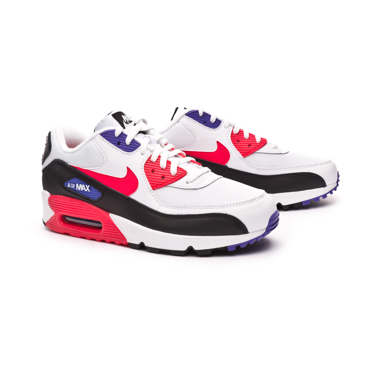 best service ea23e 9a279 Zapatilla Air Max '90 Essential Shoe White-Red orbit-Psychic purple-Black