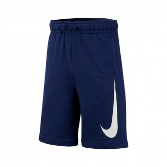 Short Nike Sportwear Swoosh Niño Midnight navy-White