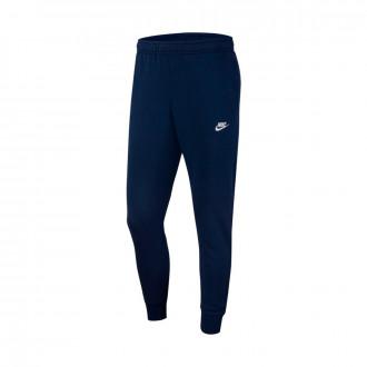 Pantalon Nike Sportwear Club Jogger Midnight navy-White