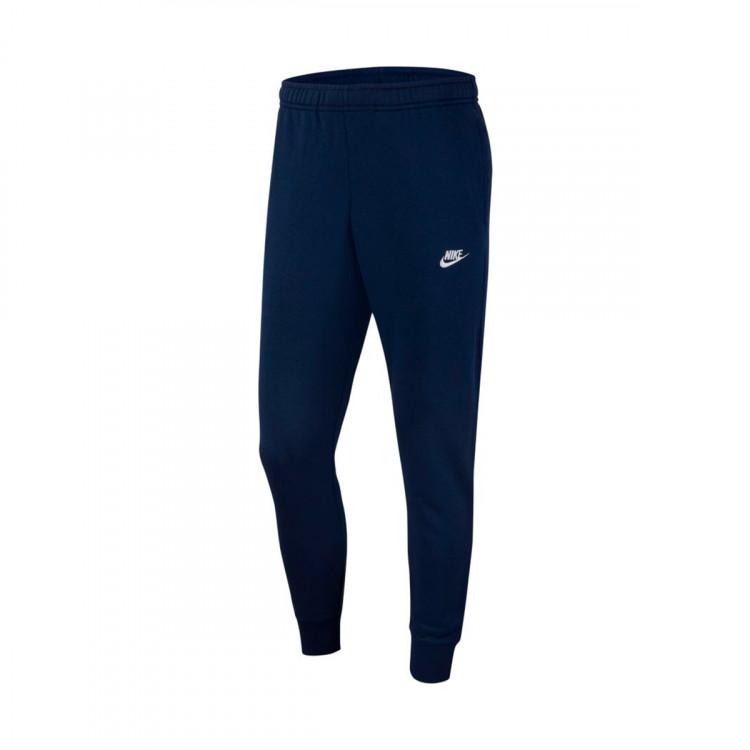 Pantalón largo Sportwear Club Jogger Midnight navy-White