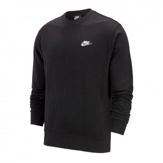 Felpa Nike Sportwear Club Crew Black-White