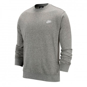 Felpa Nike Sportwear Club Crew Dark grey heather-White