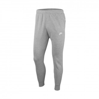 Calças Nike Sportwear Club Jogger Dark grey heather-Matte silver-White