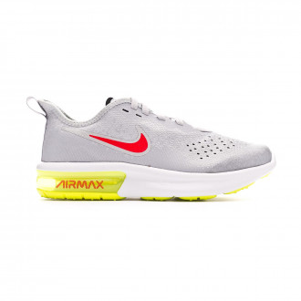 Zapatilla Nike Air Max Sequent 4 Wolf grey-Red orbit-Pure platinum