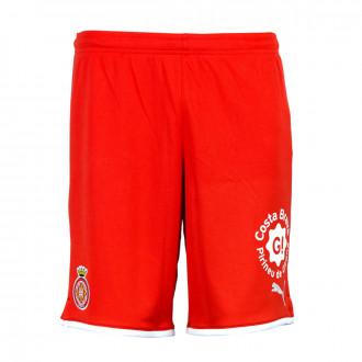 Shorts  Puma Girona FC Primera Equipación 2019-2020 Niño Red-White