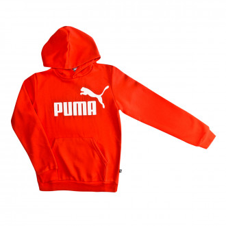 Sudadera Puma ESS Logo Hoody FL Niño High risk red