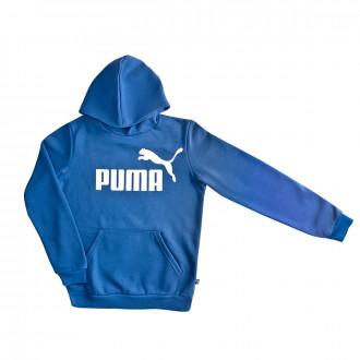 Sudadera Puma ESS Logo Hoody FL Niño Galaxy blue