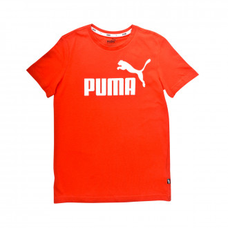 Playera  Puma ESS Logo Niño High risk red