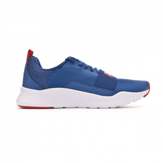 Scarpe Puma Wired Bambino Galaxy blue-High risk red