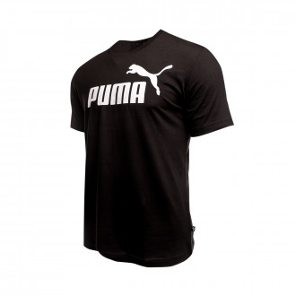 Playera  Puma ESS Logo Tee Cotton black