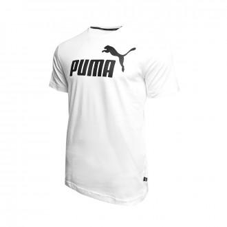 Maillot  Puma ESS Logo Tee Puma white