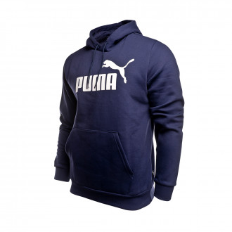 Sweatshirt  Puma ESS Hoody FL Big Logo Peacoat
