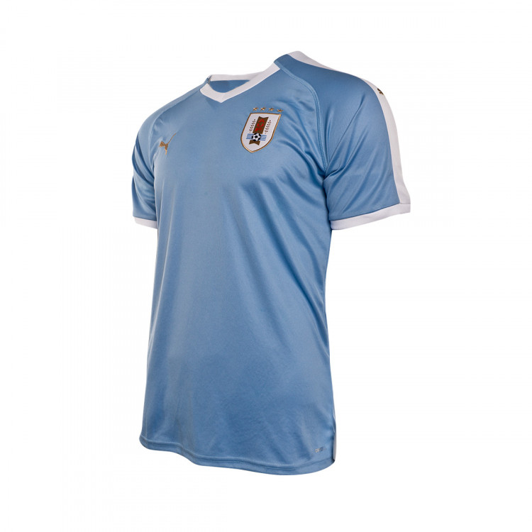 top fashion b32b1 3da92 camiseta-puma-uruguay-primera-equipacion-2019-2020-silver-