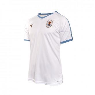 Camiseta  Puma Uruguay Segunda Equipación 2019-2019 Puma white