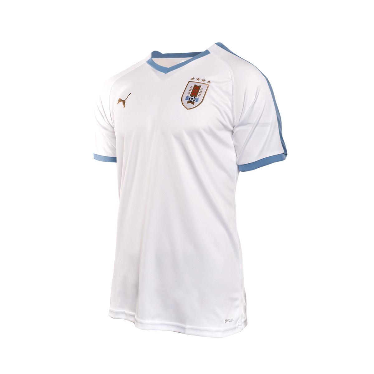 hot sale online 03b8b 8c485 Camiseta Uruguay Segunda Equipación 2019-2019 Puma white