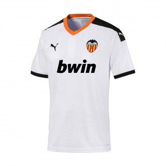 Jersey Puma Valencia CF 2019-2020 Home Puma white-Puma black-Vibrant orange