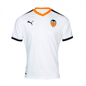 Jersey Puma Kids Valencia CF 2019-2020 Home Puma white-Puma black-Vibrant orange