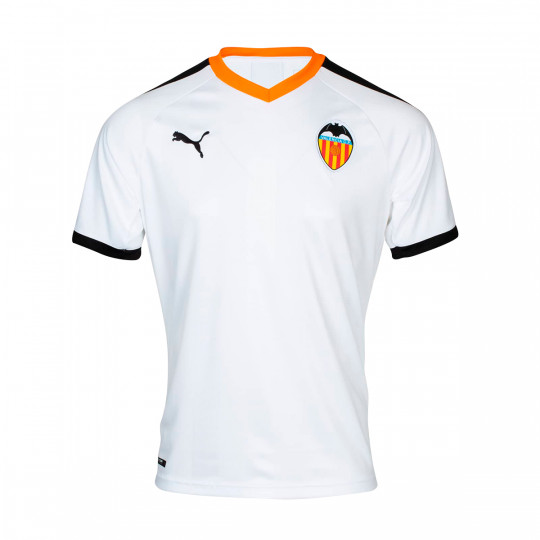 White-Fizzy Orange PUMA Valencia CF Training Top 2019-2020 Ni/ño Sudadera