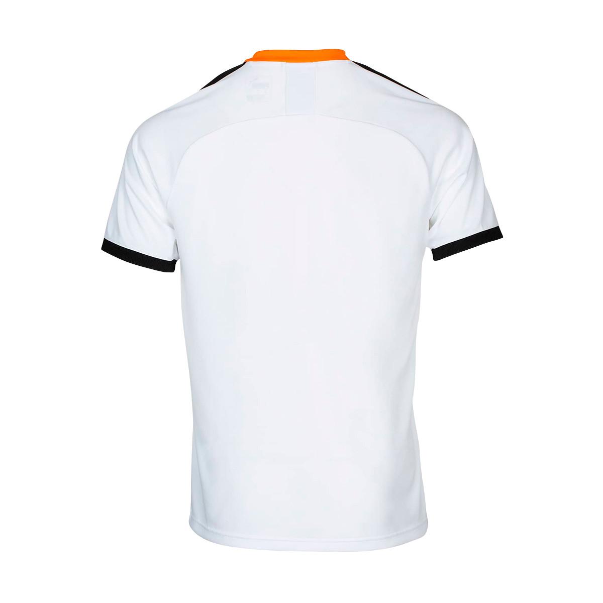 c70745383 Jersey Puma Valencia CF Primera Equipación 2019-2020 Niño Puma white-Puma  black-Vibrant orange - Tienda de fútbol Fútbol Emotion