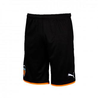 Short  Puma Valencia CF Primera Equipación 2019-2020 Niño Puma black-Vibrant orange