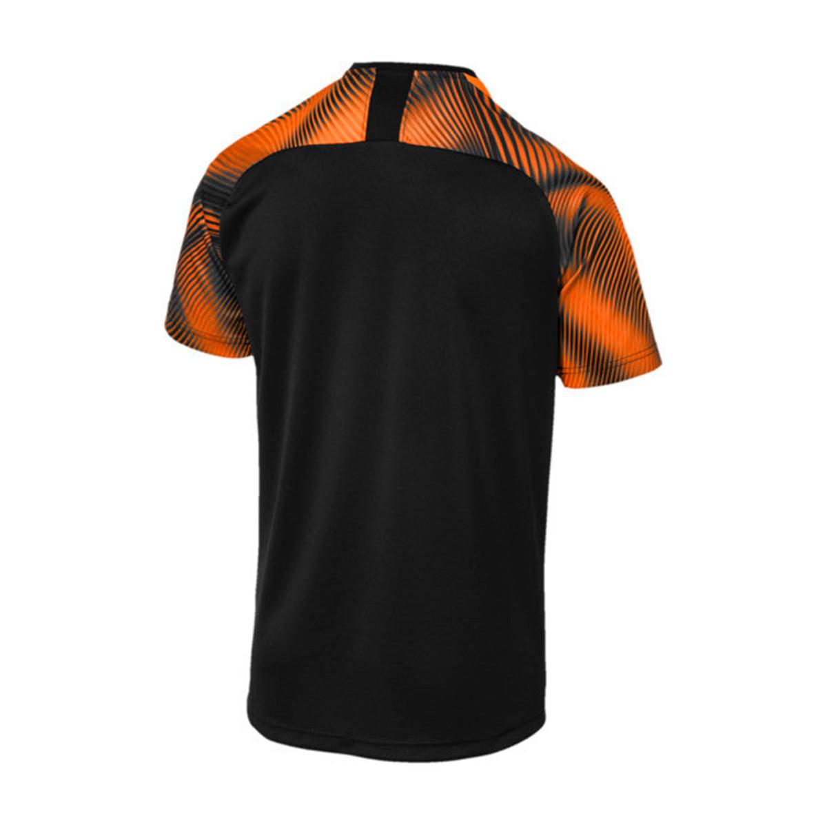 8b3b797f0 Jersey Puma Valencia CF Segunda Equipación 2019-2020 Puma black-Vibrant  orange - Tienda de fútbol Fútbol Emotion
