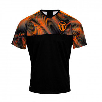 Jersey Puma Kids Valencia CF 2019-2020 Away Puma black-Vibrant orange