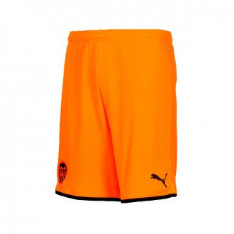 Pantalón corto Puma Valencia CF Segunda Equipación 2019-2020 Niño Vibrant orange-Puma black