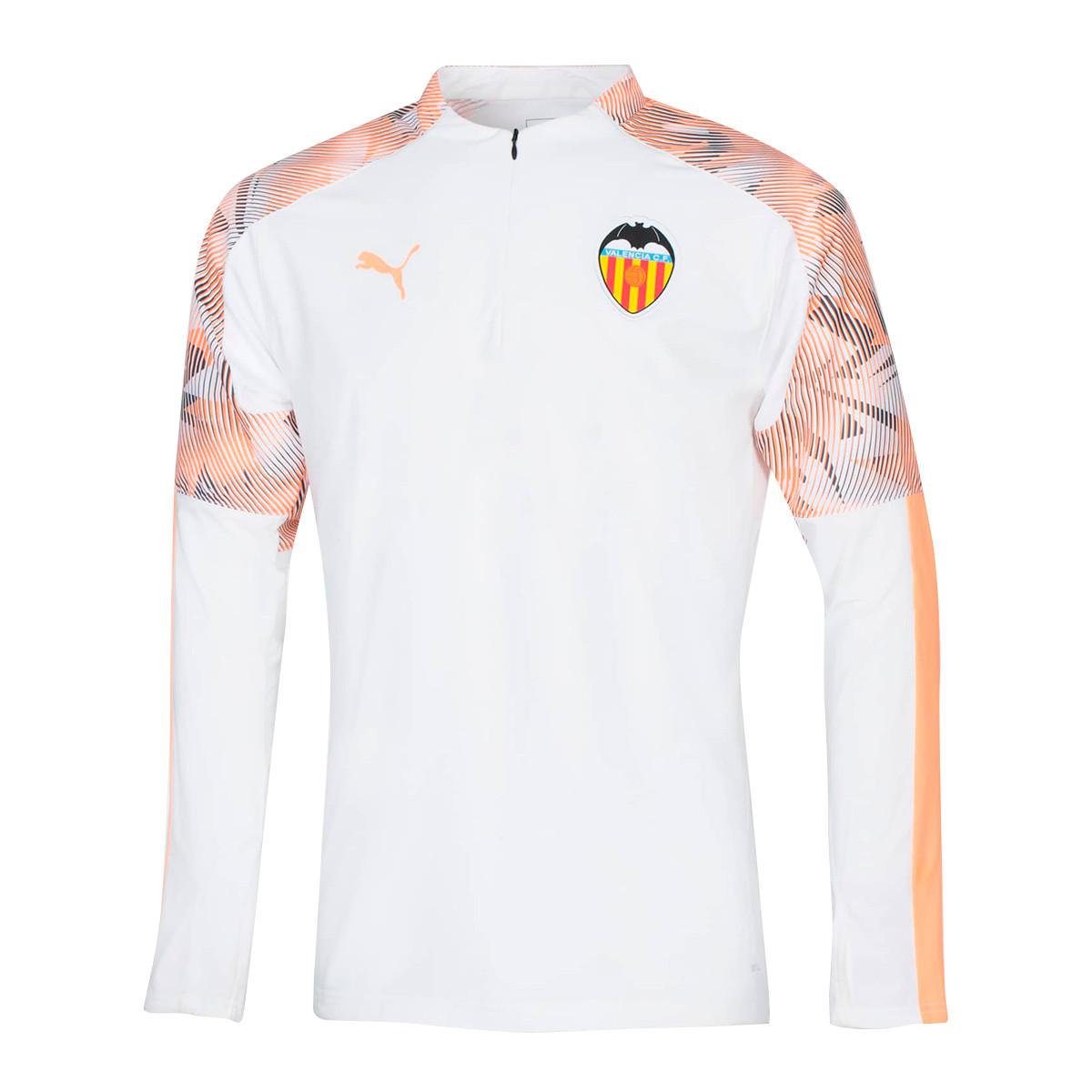 Microordenador Derechos de autor Desfavorable  Sweatshirt Puma Kids Valencia CF Training Top 2019-2020 Puma white ...